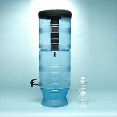 BERKEY LIGHT SYSTEM  -  BPA Free 100% safe hard plastic material.  Berkey Light System ready to use with 2 x original Black Berkey Filters inside  (same f