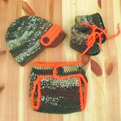 Hey, I found this really awesome Etsy listing at http://www.etsy.com/listing/160671002/crochet-camo-baby-diaper-cover-and-brim
