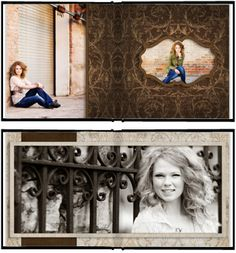 The Album Cafe | Photoshop Templates for Photographers $34
