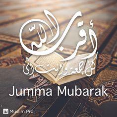 "Jumma Mubarak #muslimpro Optional(""http://www.muslimpro.com/dl"")"