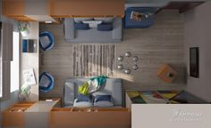 Детская комната, Дизайн интерьеров, комната для двух детей