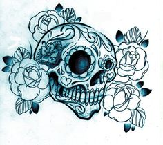 Pics Women Tattoos on Skull Tattoo For Girls