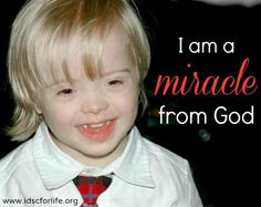 International Down Syndrome Coalition- IDSC: Miracle!