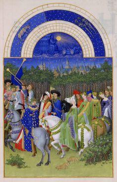 Frères_Limbourg_-_Très_Riches_Heures_du_duc_de_Berry_-_mois_de_mai_-_Google_Art_Project.jpg 3.953×6.144 pixels