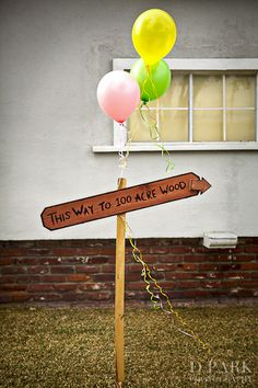 winnie the pooh party welcome to the hundred acre wood