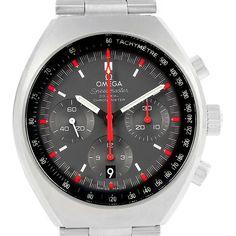 16569 Omega Speedmaster Mark II Chronograph Watch 327.10.43.50.06.001 SwissWatchExpo
