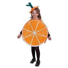 Disfraz Naranja infantil Fruit Costumes, Group Costumes, Diy Costumes, Cosplay Costumes, Halloween Fruit, Family Halloween Costumes, Nutrition Month Costume, Vegetable Costumes, Fruit Crafts