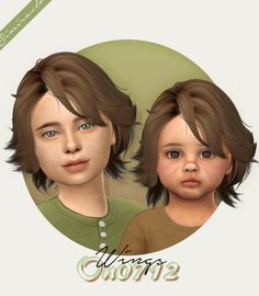 The Sims 4 simiracle Wings Sims 4 Cas, My Sims, Sims Cc, Sims 4 Toddler Clothes, Sims 4 Cc Kids Clothing, Mod Clothing, Children Clothing, Sims 4 Hair Male, Sims Hair