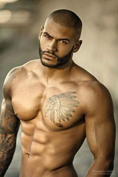 Melaninmuscle Arron Aro Photographer Tibo Norman Black Man Hot Black Guys