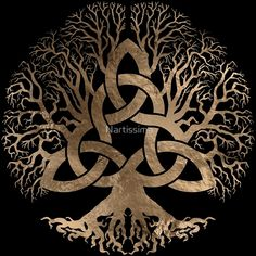Celtic Tree of Life & Triquetra symbols tattoo. Maybe forearm. - Celtic Tree of Life & Triquetra symbols tattoo. Maybe forearm…. Celtic Tree of Life & Triquetra symbols tattoo. Maybe forearm…. Celtic Tree Tattoos, Viking Tattoos, Tattoo Tree, Celtic Sleeve Tattoos, Celtic Knot Tattoo, Yggdrasil Tattoo, Triquetra, Voll Arm-tattoos, Symbole Tattoo