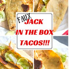 These faux tacos taste remarkably like Jack In The Box tacos, but are made with lentils, taco seasoning and refried beans. Delicious & healthy! I promise.