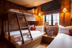 Living at Mountain Lodge Trysil Praz Sur Arly, Rustic Bunk Beds, Ski Lodge Decor, Garage Guest House, Chalet Interior, Building A Cabin, Cozy Cabin, Winter Cabin, Cabin Design