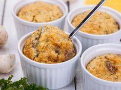 Soufflé forestier - Recette de cuisine Marmiton : une recette