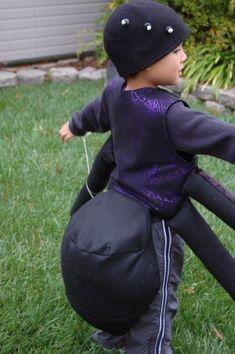 DIY Spider Costume_back - Construction idea...