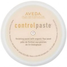 Aveda Control Paste -TIP- To add texture and tease ability try adding a tiny amount to wet hair  in fine hair and or soft hair. Follow with blowdrying.