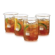 Libbey® Glass 4-Piece Chemistry Bar Beaker Cocktail Set - BedBathandBeyond.com