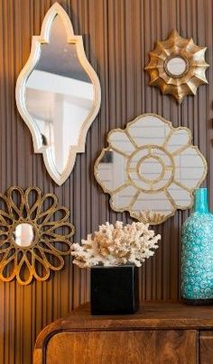 How-To: Create a Sunburst Mirror Wall | Livingroom | Pinterest ...