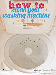How To Clean Your Washing Machine - DIY Tutorial