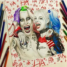 Joker x Harley Quinn By @williammalik  _ Also check out our new art featuring page @artshelp by arts_help