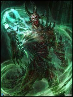 Artist: Vlad Marica aka Vlad MRK - Title: The Whip Of the Spirits reg - Card: Jester, Legion Commander