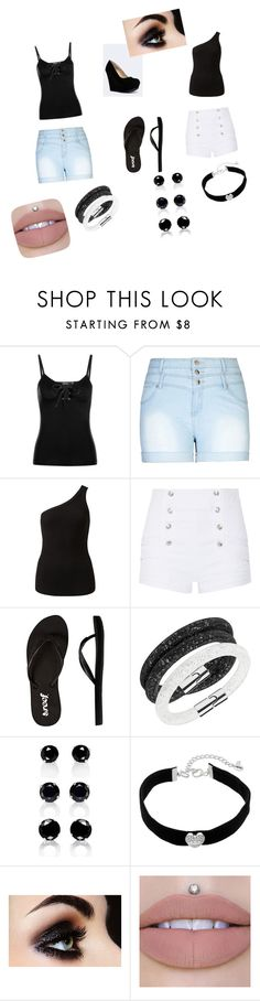 """""""pln 2017 celebration"""" by vyesica-yv on Polyvore featuring Boohoo, City Chic, Witchery, Pierre Balmain, Reef, Swarovski, Juicy Couture and plus size clothing"""