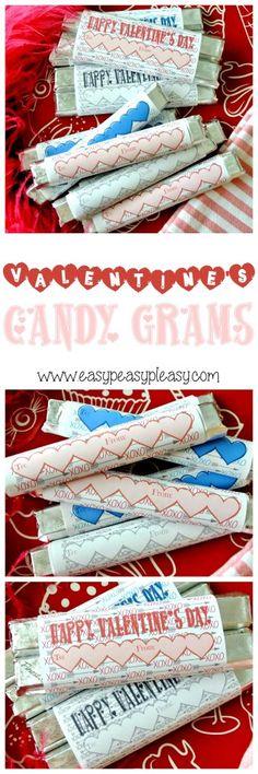 Valentines Day Candy Gram Fundraiser