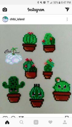#cactus #perlerbeads #chibiisland