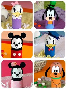huevos decorados con los personajes disney Craft Kits For Kids, Diy For Kids, Crafts For Kids, Cardboard Box Crafts, Toilet Paper Roll Crafts, Disney Diy, Disney Crafts, Disney Princess Crafts, Walt Disney