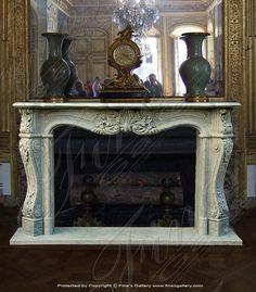 Marble Mantels Fireplace Mantles Fireplaces Hearths Custom Designed Elegant