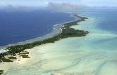 Eilandstaat Kiribati bereidt verhuizing hele bevolking voor.