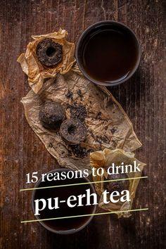 Tea Benefits: 15 Effects on Weight Loss, Skin, and More 15 Reasons to Drink Pu-Erh Tea Pu Erh Tee, Best Herbal Tea, Herbal Teas, Best Teas For Health, Peppermint Oil Benefits, Best Matcha Tea, Tea Benefits, Health Benefits, Tea Blog
