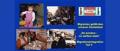 "Migranten gefährden unseren Sozialstaat! ""No borders – no welfare state"" Migrationsintegration Teil II Cards, Maps, Playing Cards"