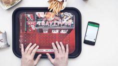 KFC Tray Typer keyboard is finger clickin' good