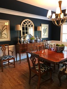 11 amazing dark blue dining room images living room lunch rh pinterest com