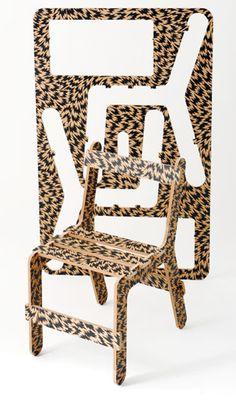 Eley Kishimoto, Chairfix, installation, 2010 | #industrial #design #furniture