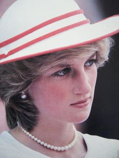 Princess Diana on tour in Australia 1983