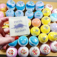 Handmade bath bombs for days! We add refined shea butter to leave your skin feeling so silky smooth.