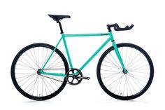 fixie bikes single speed  vélo urbain quella signature Mint pas cher et chic sur fixiedesign.com