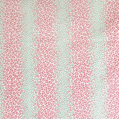 Hibiscus Pink Animal Print Cotton Upholstery Fabric