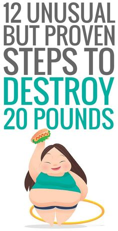 12 unusual ways to lose weight fast.