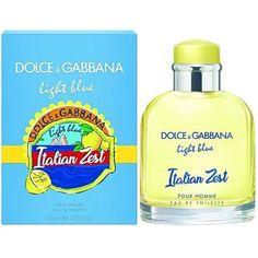 053863416743a Dolce Gabbana Light Blue Italian Zest 4.2 oz EDT for men - LaBellePerfumes