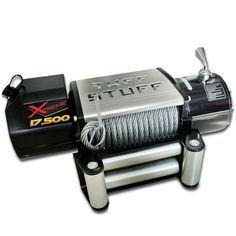 TheTuff Stuff Xtreme 17,500lb recovery & trailer winch is the most Xtreme winch at an even more Xtreme value! The Xtreme Series Tuff Stuff winches are designed for the recovery or off road enthusiast looking for a serious winch to pull the heaviest of loads with ease. The Tuff Stuff 17,500lb winch was specifically developed with tow rigs, Medium duty 1 ton trucks or heavy equipment in mind.