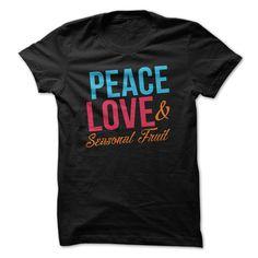 Seasonal FruitPeace Love andamp; Seasonal FruitSeasonal Fruit, peace, love, hippie, hipster, animals, vegan, vegetarian, eco, green, natural, health, healthy, love animals, no meat, activism, activ