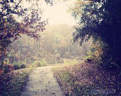 Landscape photography fall photo autumn decor by JourneysEye