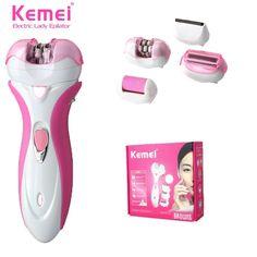 KEMEI 2531 4 In 1 Grinder Women Epilator Electric Shaver Wool Device  Shaving Lady Female Trimmer Razor Care Depilation Depilator 2404487b2c