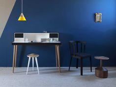 Solid wood secretary desk BARDINO by Miniforms   design Paolo Cappello