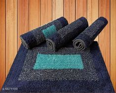 Doormats & Bath Mats Trendy Stylish Door Mats Material: Cotton Multipack: 4 Sizes: Free Size (Length Size: 24 cm Width Size: 16 cm)  Country of Origin: India Sizes Available: Free Size   Catalog Rating: ★3.8 (406)  Catalog Name: Trendy Stylish Door Mats CatalogID_833347 C55-SC1118 Code: 803-5571100-906