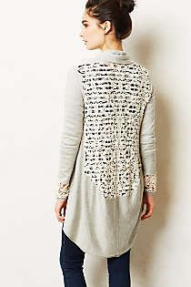 Anthropologie - Lace Lengths Cardigan