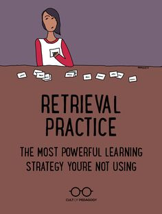 Nothing cements long-term learning as powerfully as retrieval practice. Learn how to incorporate it into your classroom. Cult of Pedagogy Instructional Coaching, Instructional Strategies, Teaching Strategies, Teaching Tips, Instructional Technology, Teaching Study Skills, Teaching Biology, Teaching Activities, Retrieval Practice
