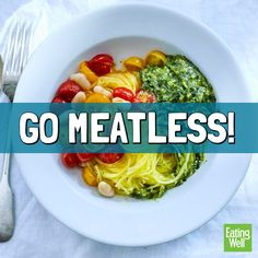 30-Day Meatless Challenge - EatingWell